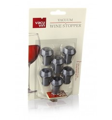 Vacu Vin - set 6 dopuri pentru pompa vid