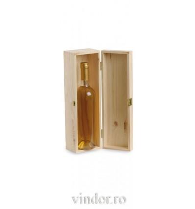 Cutie lemn 1 sticla