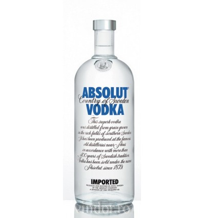 Absolut Vodka 1.0L