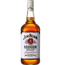 Jim Beam White Whiskey 1.0 L