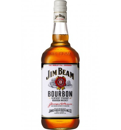 Jim Beam White Whiskey 1.0 L